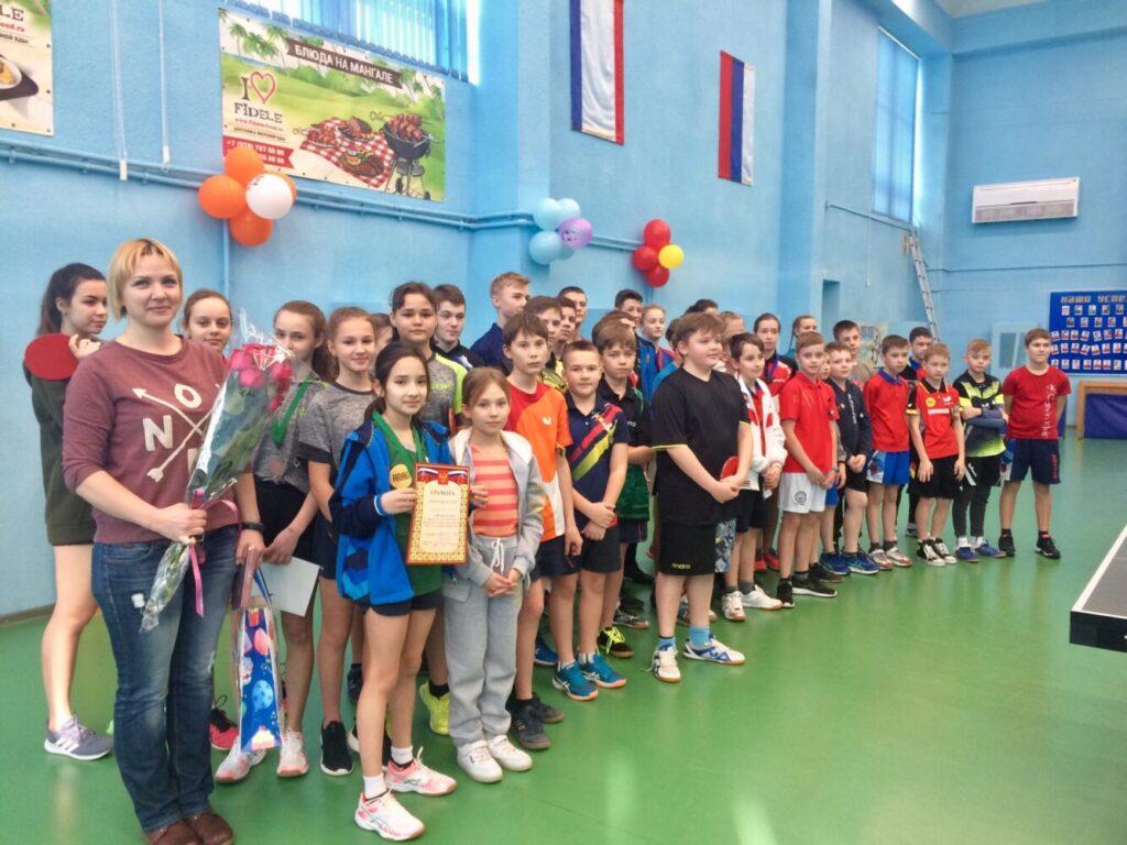 Первенство РК среди юношей и девушек по настольному теннису 8-9 февраля