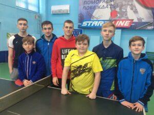 3-й тур Чемпионата Республики Крым по настольному теннису