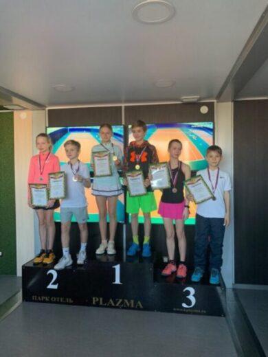 Ялтинские теннисисты стали призёрами Российского теннисного тура