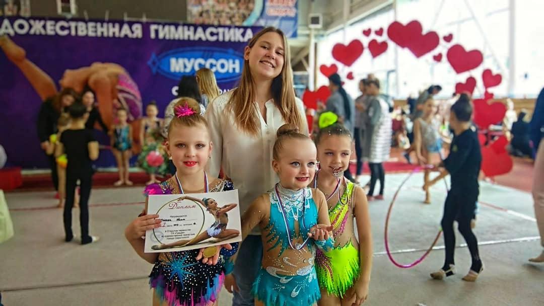 Воспитанницы МБУ «СШ» привезли медали из Севастополя