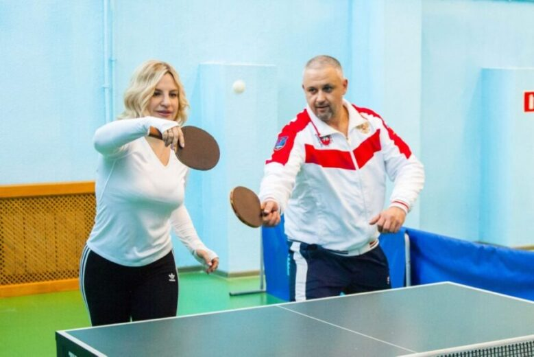 У нас в гостях - Министр спорта Республики Крым!