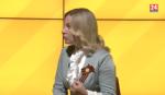 Министр спорта РК Ольга Торубарова на телеканале «Крым 24»