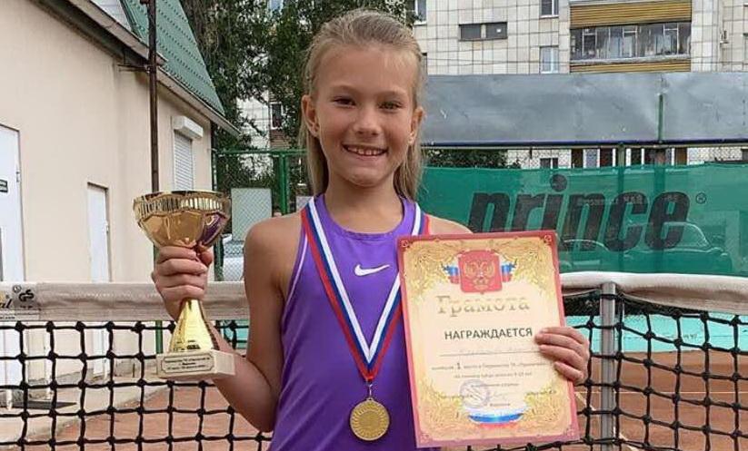 Наша теннисистка завоевала золото в Воронеже