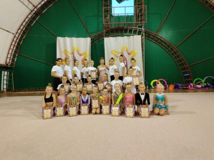 Наши гимнастки заняли 1-е место в первенстве города Ялта