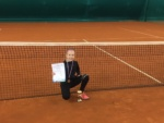 Ксения Клебанова взяла золото на турнире «Кубок Федерации тенниса Санкт-Петербурга»