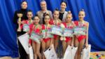 Крымчанки завоевали золотые медали на первенстве ЮФО по художественной гимнастике