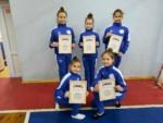 В Симферополе спортсменки отделения эстетической гимнастики завоевали 3 первых и 3 призовых места