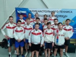 Воспитанники нашего отделения настольного тенниса привезли серебро с Первенства ЮФО