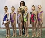 Наши гимнастки привезли из Севастополя 6 первых мест и 8 призовых