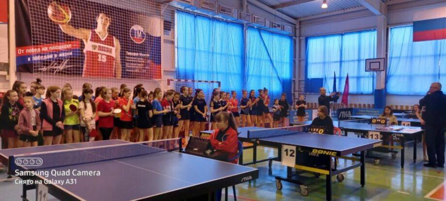 Наши спортсмены из отделения настольного тенниса борются за медали в Лабинске