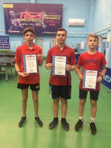 В Ялте стартовал первый тур первенства Республики Крым по настольному теннису
