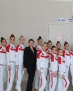 Наши спортсменки вернулись с Кубка России по эстетической гимнастике
