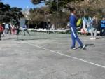 МБУ «Спортивная школа» устроила праздник тенниса на набережной Ялты
