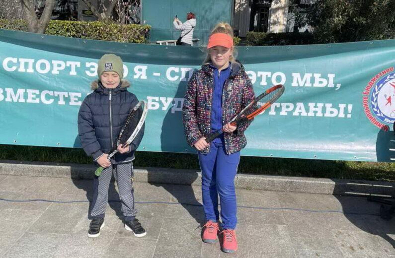 """МБУ """"Спортивная школа"""" устроила праздник тенниса на набережной Ялты"""