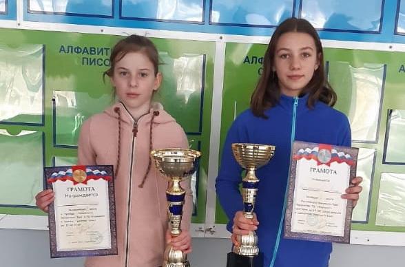 Полина Орлова и Лейла Шахмурадова