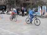 «Спортивные выходные» продолжаются: на Набережной Ялты прошел мастер-класс по велоспорту