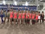 Наши гимнастки привезли из Симферополя 6 золотых и 2 серебряных медали