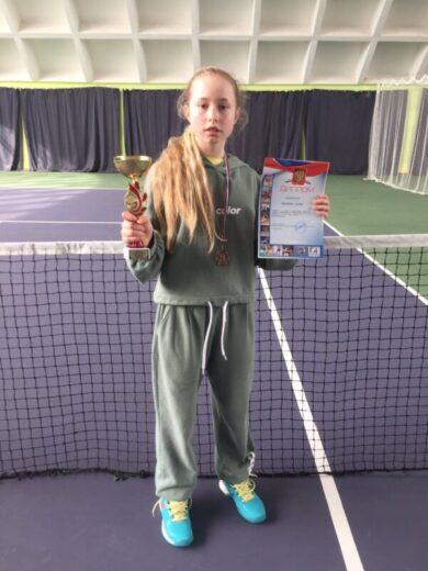Дарья Иванова, 3 место на турнире «Первенство Челябинской области»