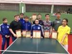 Итоги 2-го тура детской лиги по настольному теннису