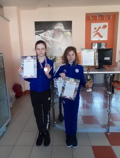 Екатерина Орлова и Полина Орлова - 2 место в парном разряде
