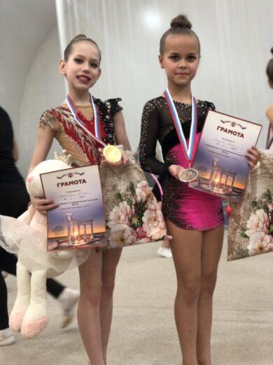 Наши гимнастки привезли из Алушты 27 медалей, из них 11 - золотых