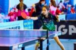 Наша спортсмена Юлия Кровякова — двукратная победительница Первенства ЮФО по настольному теннису
