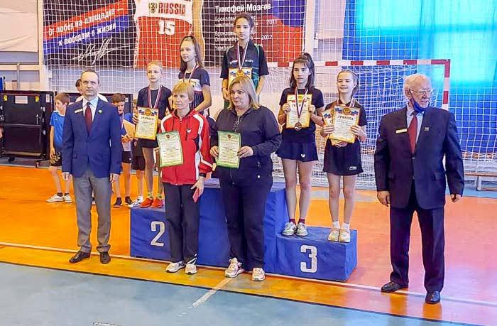 Наша спортсмена Юлия Кровякова - двукратная победительница Первенства ЮФО по настольному теннису
