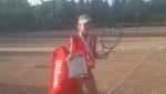 Полина Орлова завоевала два золота на соревнованиях по теннису, проходивших в Судаке
